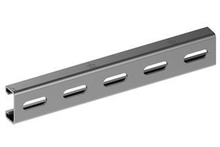 Profilo Strut in acciaio 41x21 singolo Magnelis PRF2000.