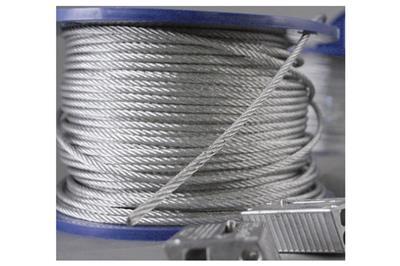 Cavetto metallico per sospensioni Ω zip